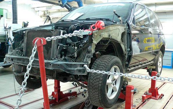 Видео кузовного ремонта